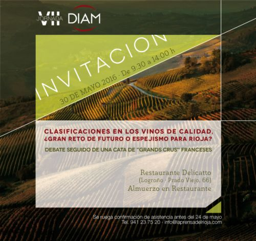 VII Jornada Diam : débat sur la classification des vins de Rioja