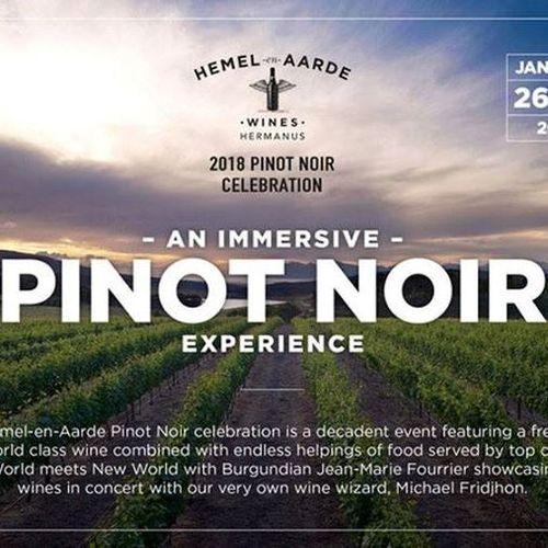 Pinot Noir Celebration en Afrique du Sud