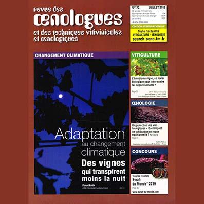 FRANCE - Revue des Œnologues n°172 - OIR / OTR (partie 3/3)