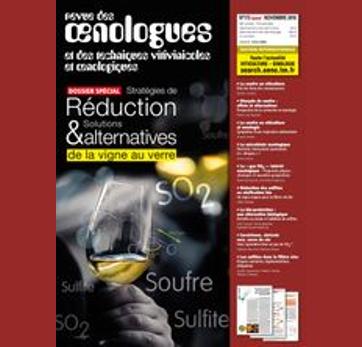 FRANCE - Revue des Œnologues n°173 - Perméabilité et réduction des sulfites.