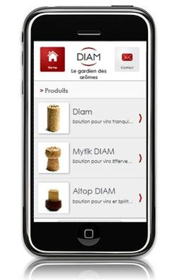 Diam lance son site Internet Mobile !